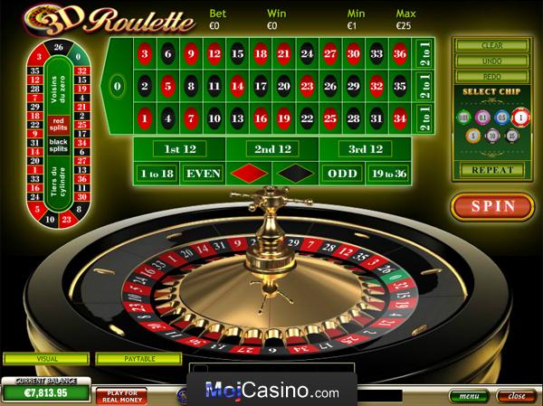 Igre roulette 3d